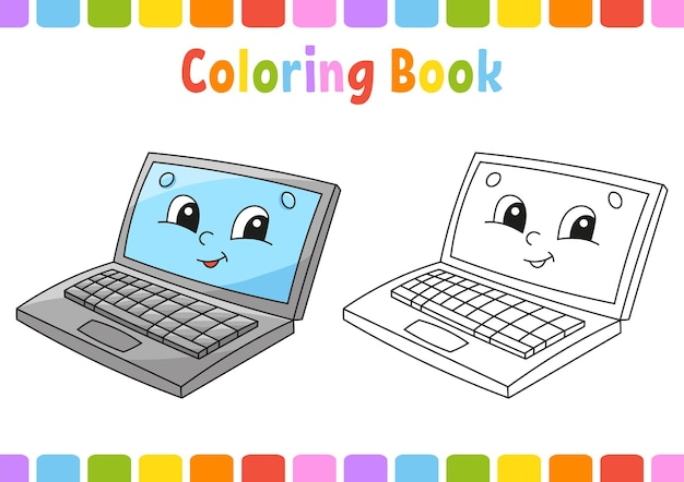 Coloring book for kids back to school theme
