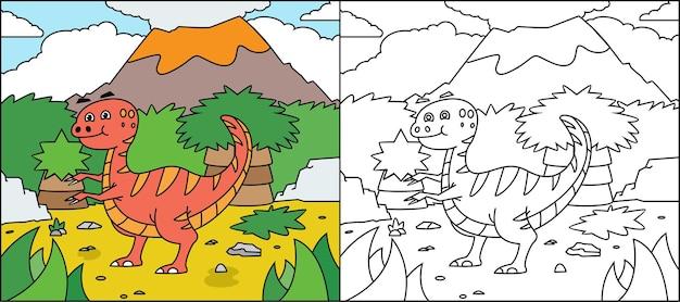 Раскраска динозавры для детей