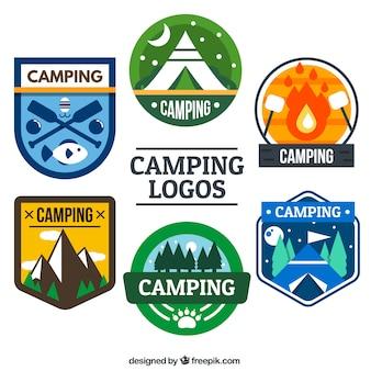Colors campsite logo collection