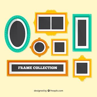 色のフレームコレクション