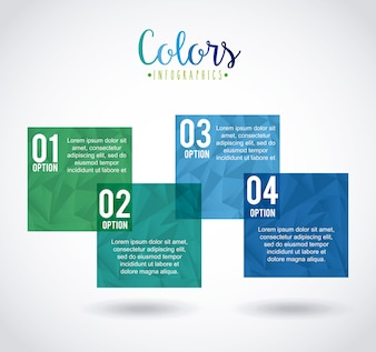 Colors infographics