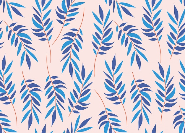 Colors leafs natural pattern background