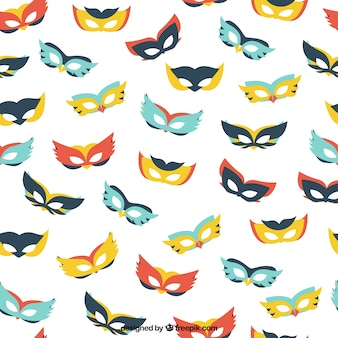 Colors masks pattern