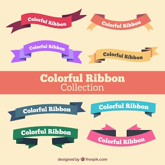 Colors ribbon collection