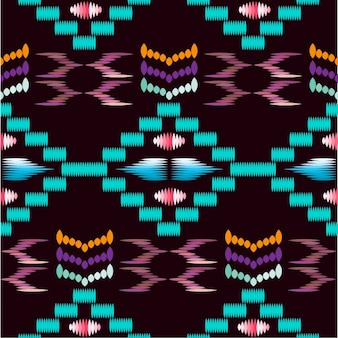 色とりどりの抽象的な形パターン