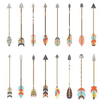 Coloured arrows collection