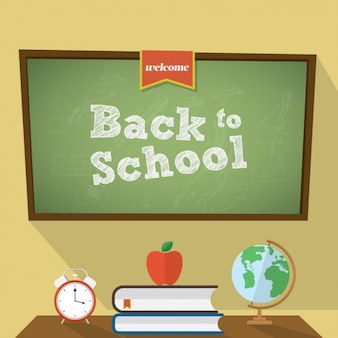 Coloured back to school background