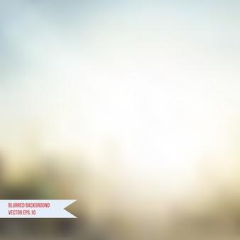 Coloured blurred background
