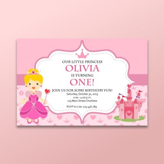 Coloured fairy tales card