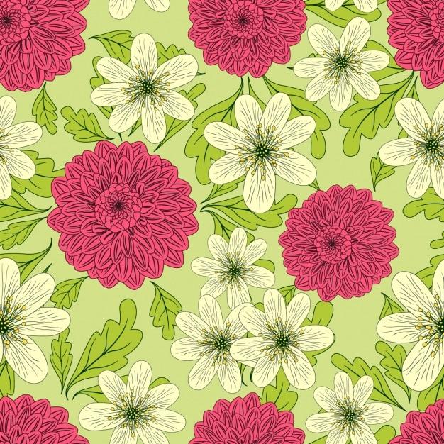 b5b13b5bc Coloured floral pattern design
