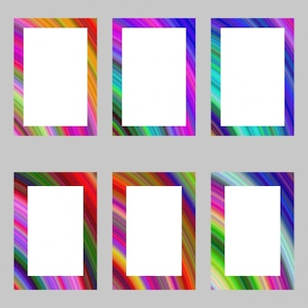 Coloured frames collection