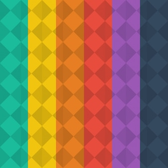 色付き幾何学的背景