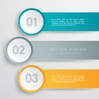 Цветное инфографики шаблон