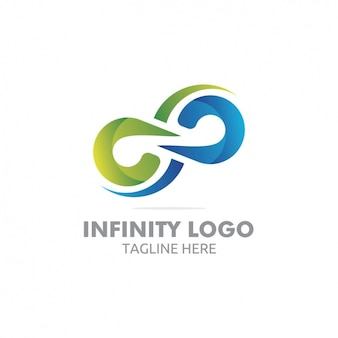 Coloured logo template design