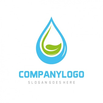 Coloured logo template