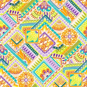 Coloured pattern design