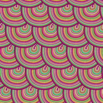 Coloured pattern design