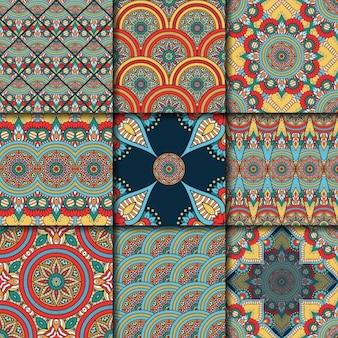 컬러 패턴 컬렉션
