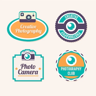Coloured photography labels