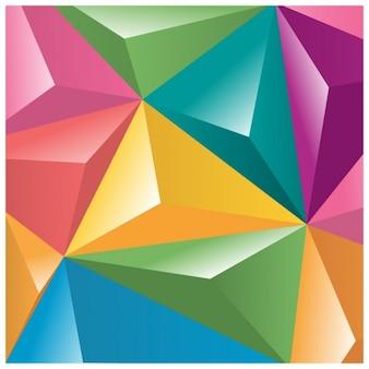 Colorato sfondo poligonale
