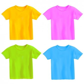 Coloured shirts collection