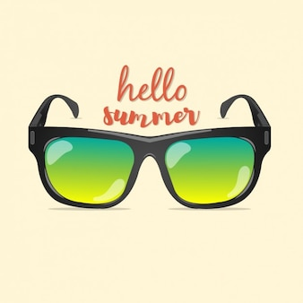 Coloured summer background