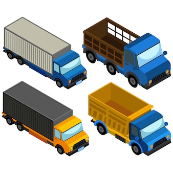 컬러 트럭 컬렉션