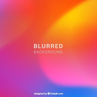 Colourful abstract blurred background