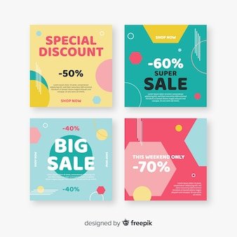 Colourful abstract sale instagram posts