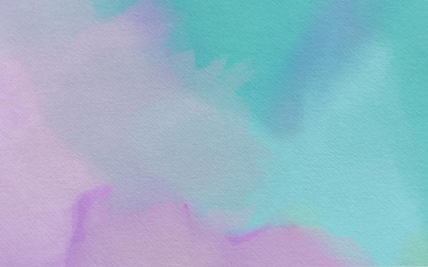 カラフルな抽象的な水彩背景デザイン