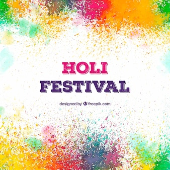 Colourful background for holi festival