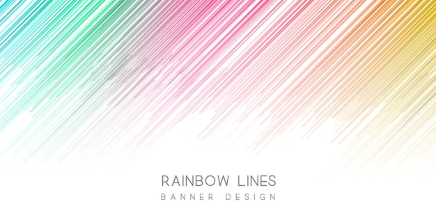 Colourful banner
