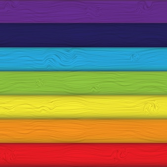 Colourful boards background vector illustration.