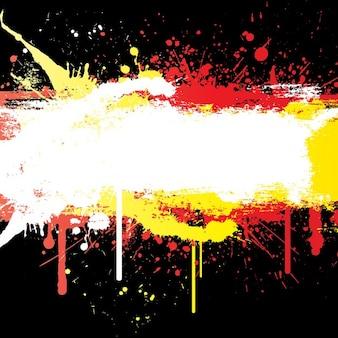 Colourful grunge background