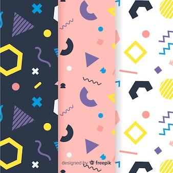 화려한 멤피스 패턴 컬렉션