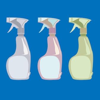 カラフルなスプレーガン消毒スプレー洗浄剤