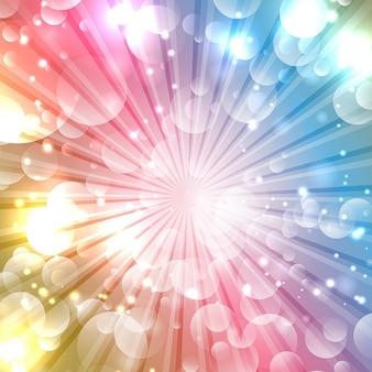 Красочный фон звездообразования