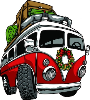 Combi holiday vector