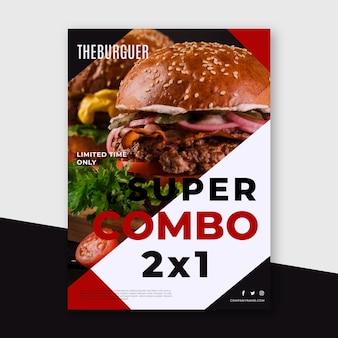 Combo meals - poster