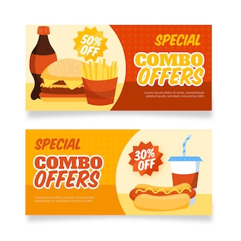 Combo offers - banners