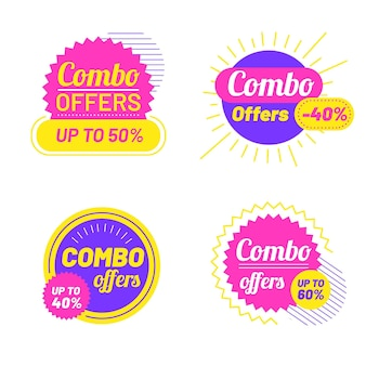 Combo offers - labels