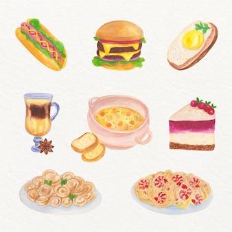 Концепция комфорта еды