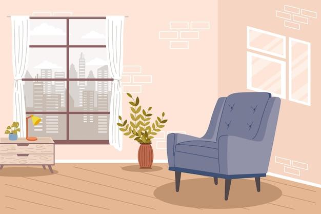 Comfy home scene