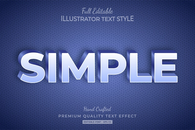 Comic 3d text style effect