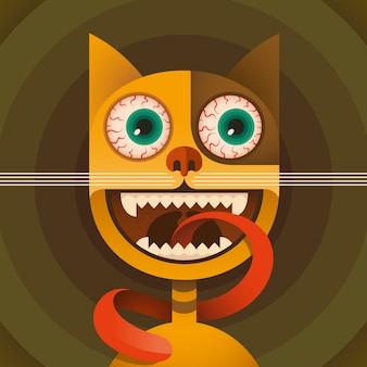 Комический кот
