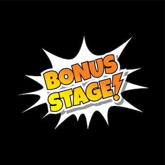 Бонусная сцена comic speech bubble cartoon game assets