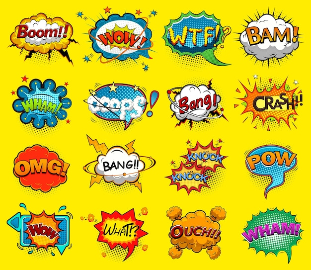 Комические речевые пузыри