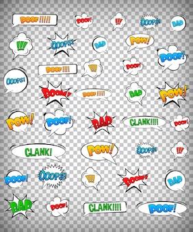 Comics pop art style blank layout .
