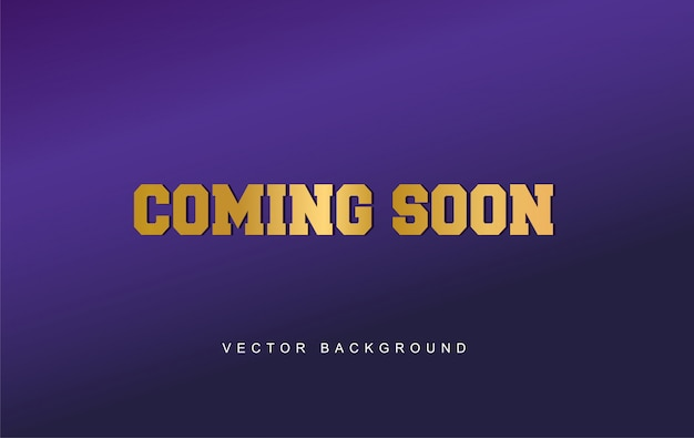 Coming soon design background