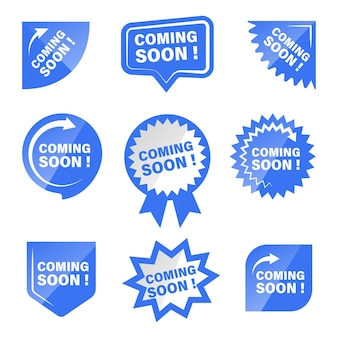 Coming soon product tag and labels collection